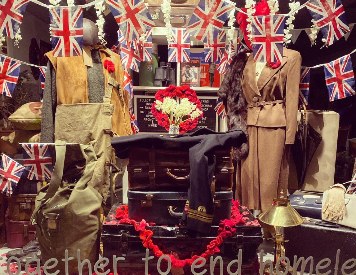 Emmaus Tring makes top ten in charity shop window display competition