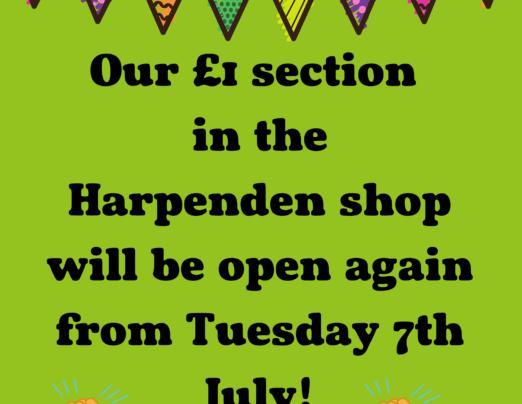£1 store harpenden