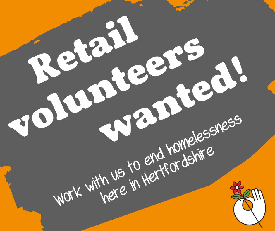 Saturday Retail Volunteers - Tring, St Albans and Boxmoor