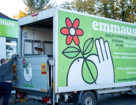 Emmaus Hertfordshire supports ethical alternative to Black Friday