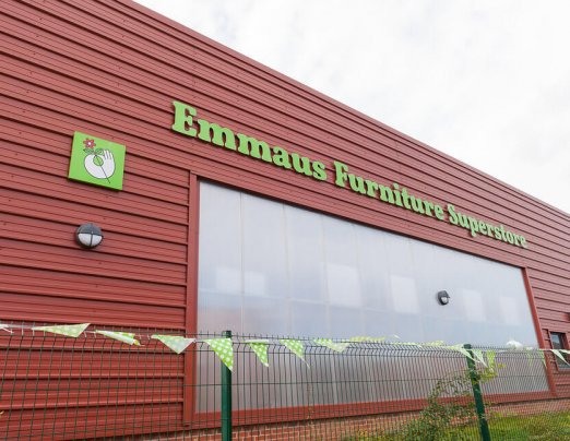 Emmaus Furniture Superstore – now reopened