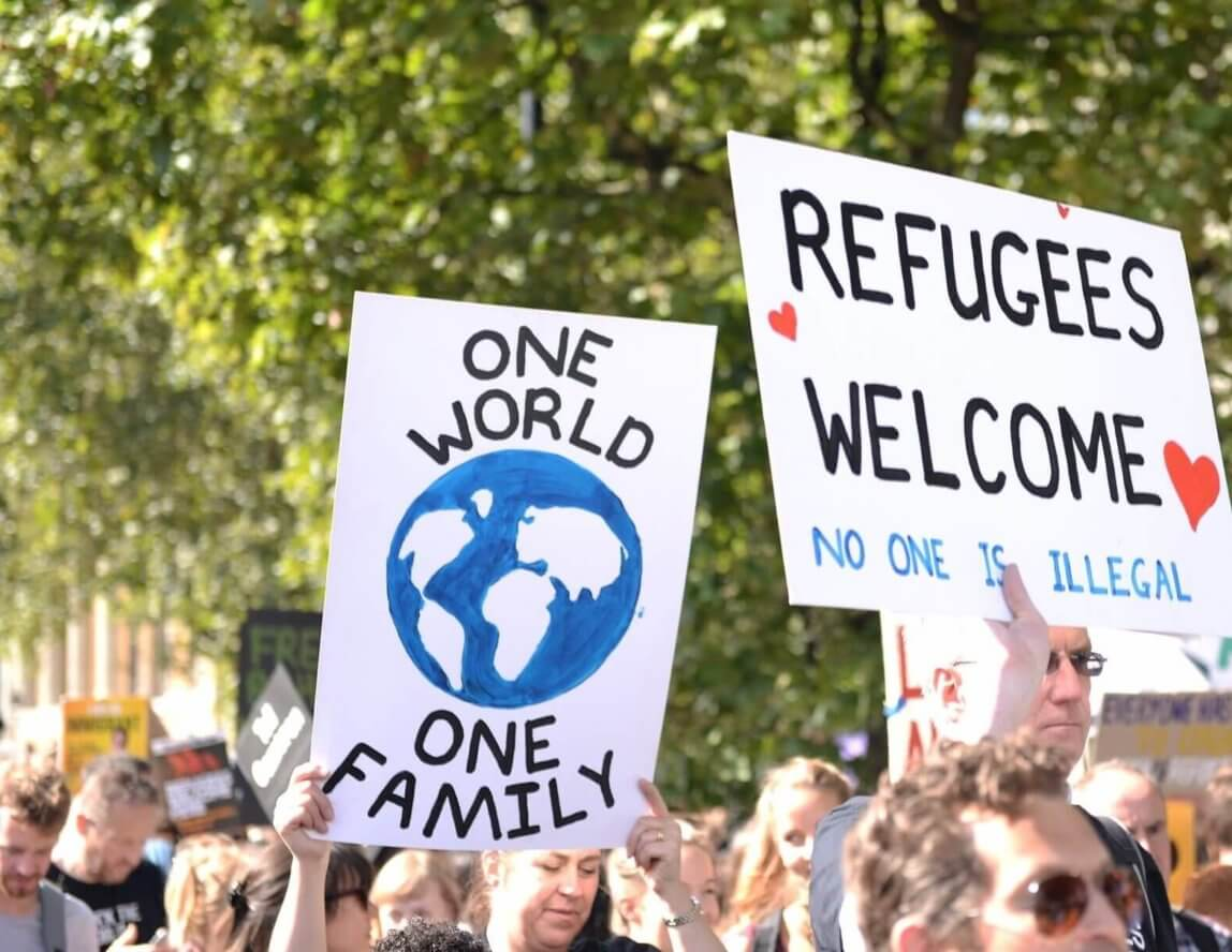 Help Refugees and Emmaus Lambeth and Surrey
