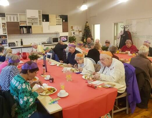 Leeds companions host festive dinner for local elderly