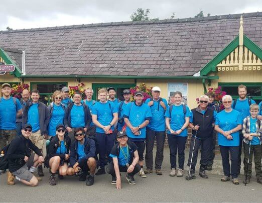 Snowdon success for Emmaus Leeds fundraisers