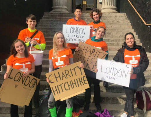 Students complete Jailbreak Hitch for Emmaus Leeds