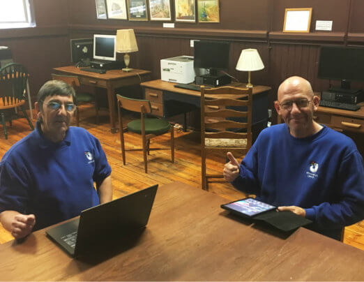 Companions gain laptops to boost digital skills