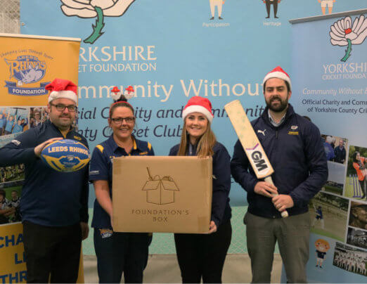 Emmaus Leeds to benefit from 'Foundation's Box' appeal