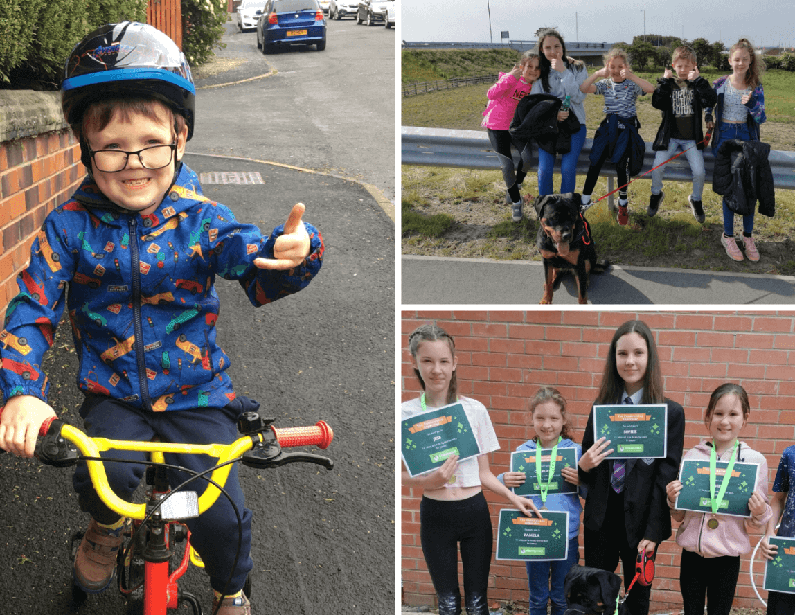 Youngsters complete marathon fundraiser for Emmaus Leeds