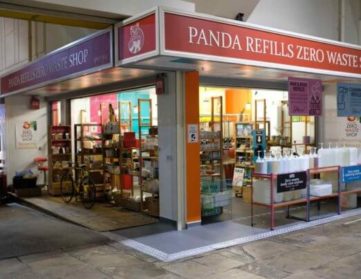 A zero waste Interview with Aimee Brown of Panda Refills
