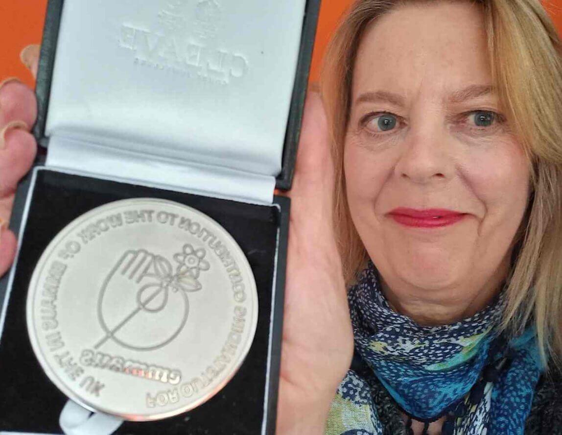 Emmaus Leeds Trustee Amanda Beresford receives Founders' medal