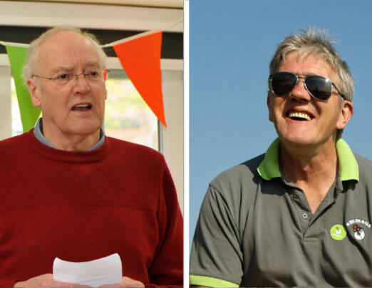 Bruce and Nigel recognised as Emmaus Hidden Heroes