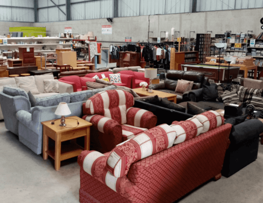 Charity Re-Use Shops reopen for Recycle Week