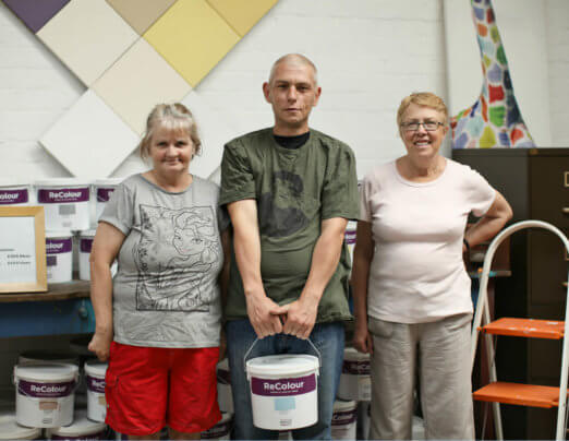 Paint scheme launched at Emmaus Mossley