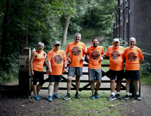 Solidarity run and cycle raises £1,000 for Oldham MRT