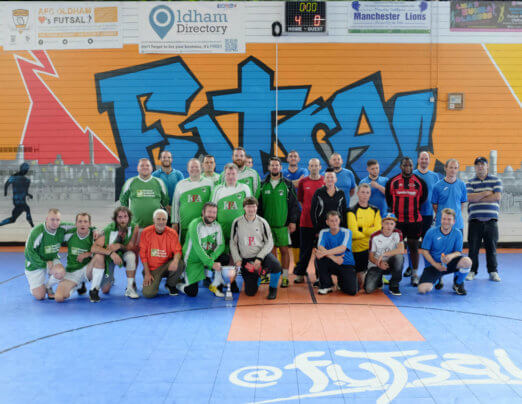 Emmaus Mossley team wins OACT Futsal Cup