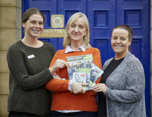 Bromleys boost for Emmaus Mossley