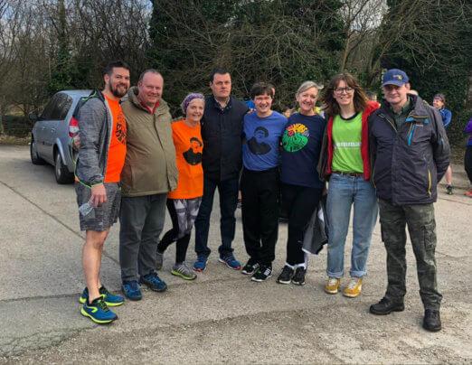 Mossley runners support Jen's Emmaus fundraiser