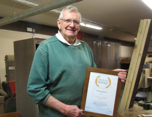 Mossley volunteer wins national award