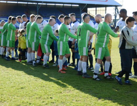 Charity match supports Emmaus Mossley