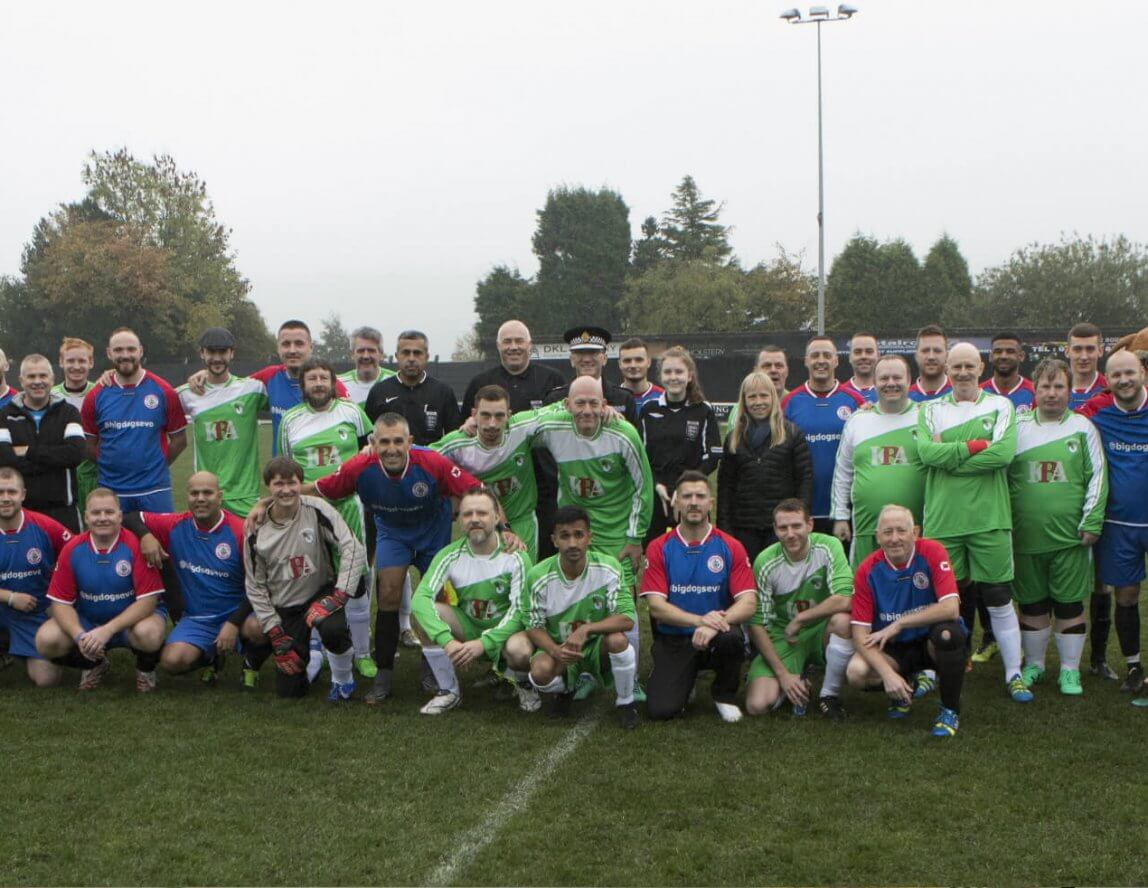 Private: Emmaus Vs GMP Charity Football Match