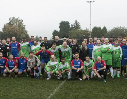 Charity match raises £2k for Mayor's Homelessness Fund