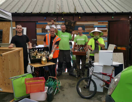Emmaus Mossley celebrates waste reduction this Recycle Week