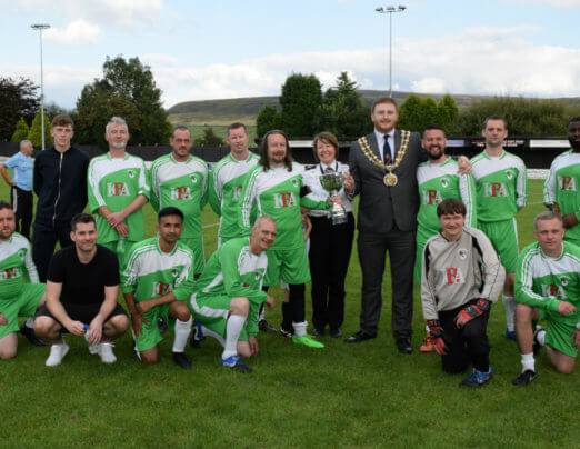 Charity match raises £2,800 for Mayor's Homelessness Fund