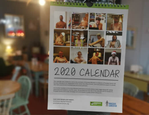 Emmaus Mossley launches 2020 charity calendar