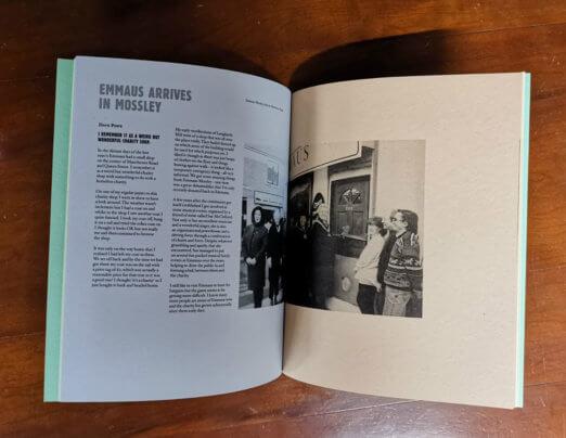 Emmaus Mossley history book