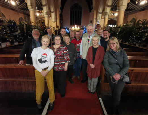 Terry Waite CBE stars at Christmas Tree Festival fundraiser