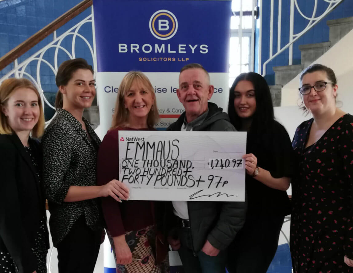 Emmaus Mossley to host Bromleys Pop-up Legal Clinic