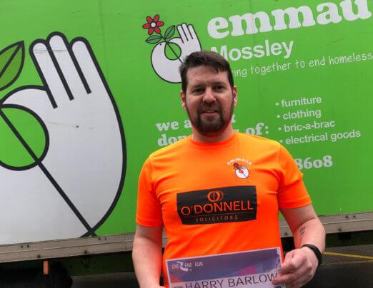 Harry starts 874-mile fundraising run