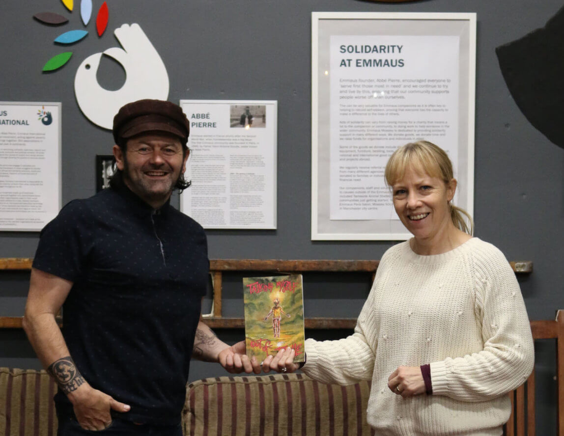 Donation received from poetry book sales