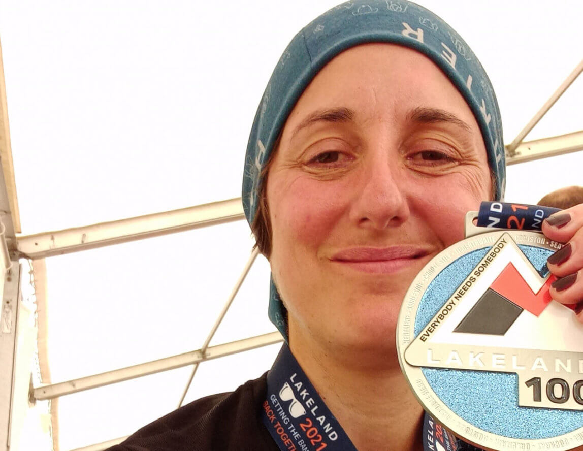 Vicky completes second 100-mile fundraiser