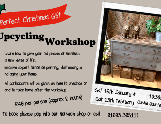 Join us for our Upcycling Workshop