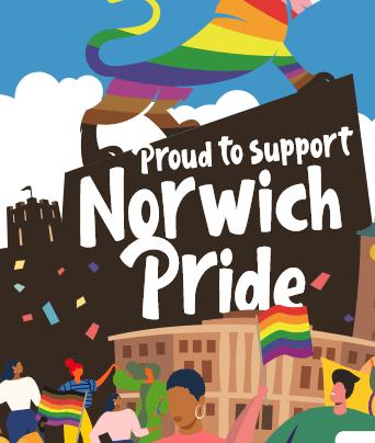 Emmaus Norfolk & Waveney sponsors Norwich Pride