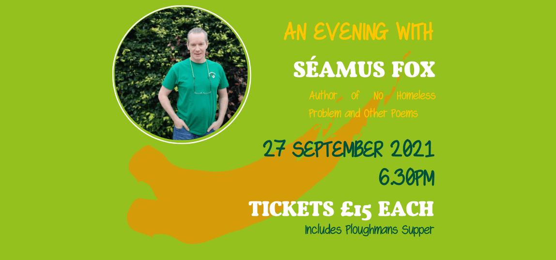 An Evening With Séamus Fox