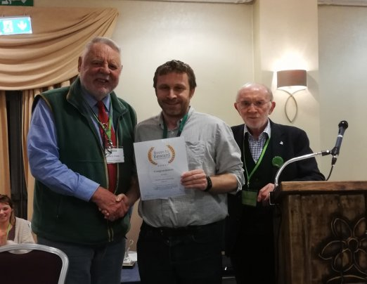 John recognised as Emmaus Hidden Hero