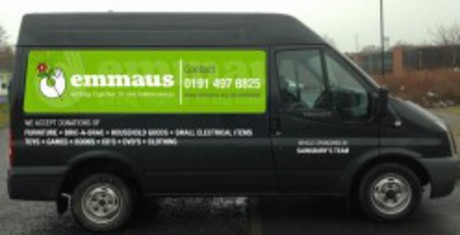 Emmaus North East gets a van!