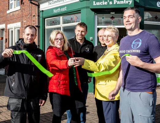 South Shields's first social supermarket is officially opened