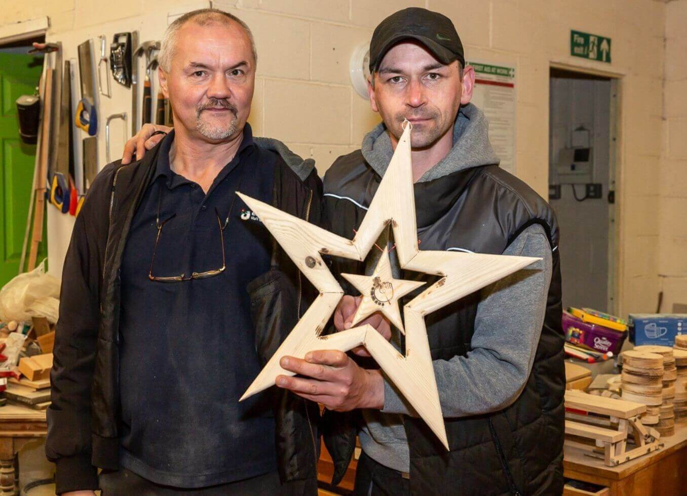 Handcrafted by companions in South Shields