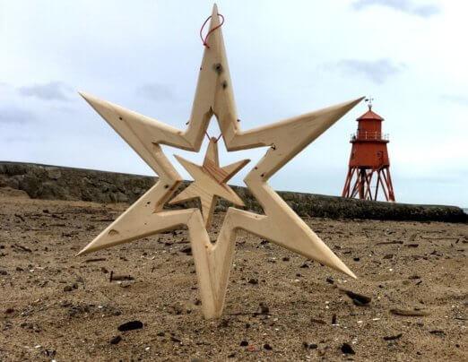 20-inch 6 Point Star £18