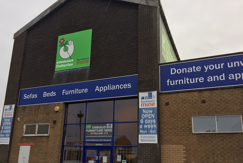 Donate to Emmaus North Staffs