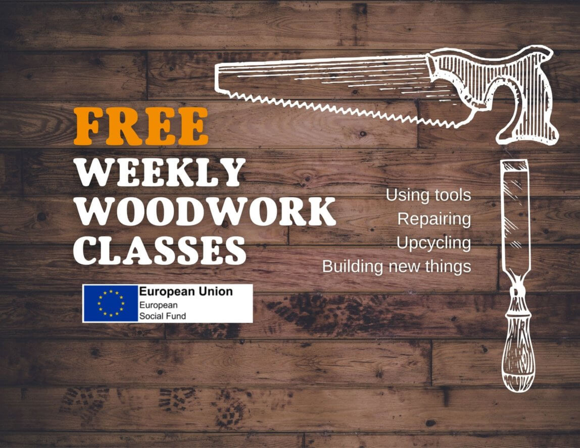 Free woodwork classes