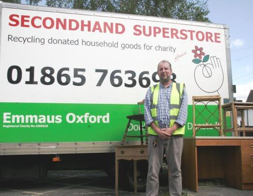 What's it like to be a volunteer driver for Emmaus Oxford?