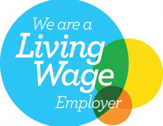 Emmaus Oxford is now an accredited Living Wage Employer