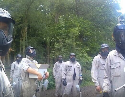 Emmaus Oxford goes paintballing