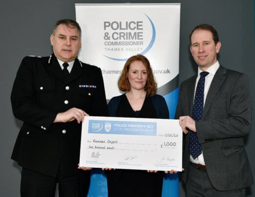 Thank you to the Police Property Act Fund!