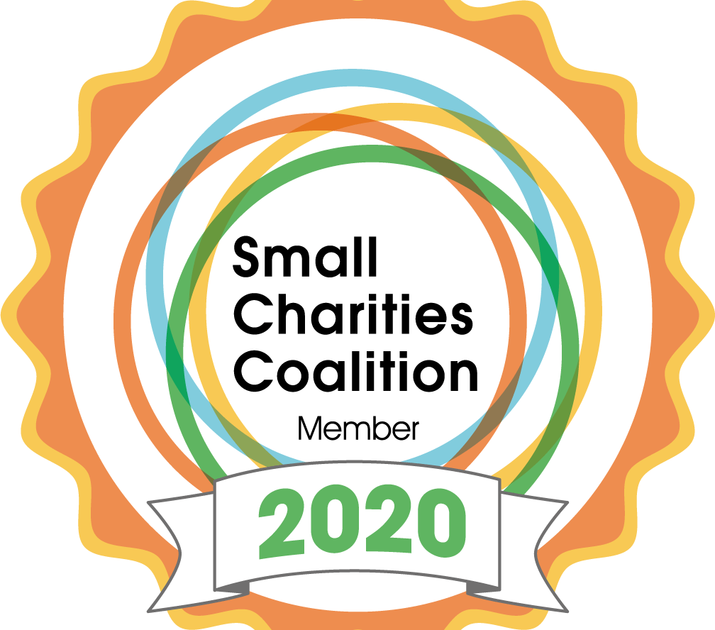 Proud members of the Small Charities Coalition