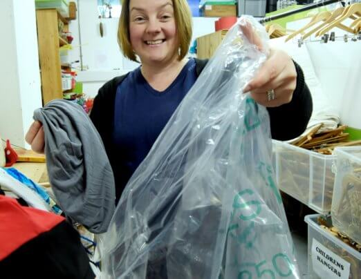 From rags to riches: how old clothes & shoes can help